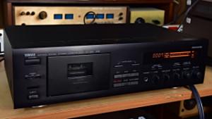 YAMAHA KX-360 RS NATURAL SOUND STEREO CASSETTE DECK - Kazetový Magnetofon (177835)