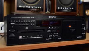 DENON DN-T620 CD/CASSETTE COMBI-DECK (177888)