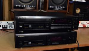 PIONEER PD-M406 - PIONEER PD-M602 Multi CD Player Přehrávač