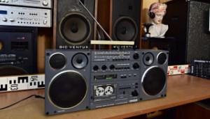 TESLA CONDOR Šedý Radiomagnetofon (177889)