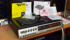 GRUNDIG SUPER HIFI STUDIO RPC 300 - Gramofon Dual 1237 G (177916)
