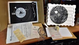 Gramofon Tesla HC 43 nepoužitý - Přenoska Tesla VM 2102