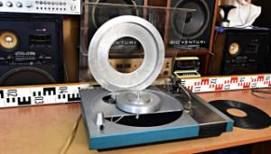 DIY gramofon - celokovový raménko P1101 přenoska SHURE (177985)