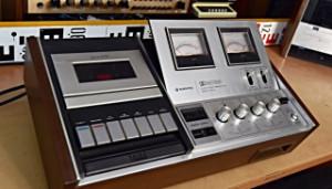 SANYO RD 4300E TAPECORDER Cassette Deck Recorder (178003)