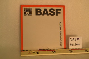 BASF LGR Audio Broadcast 27 cm