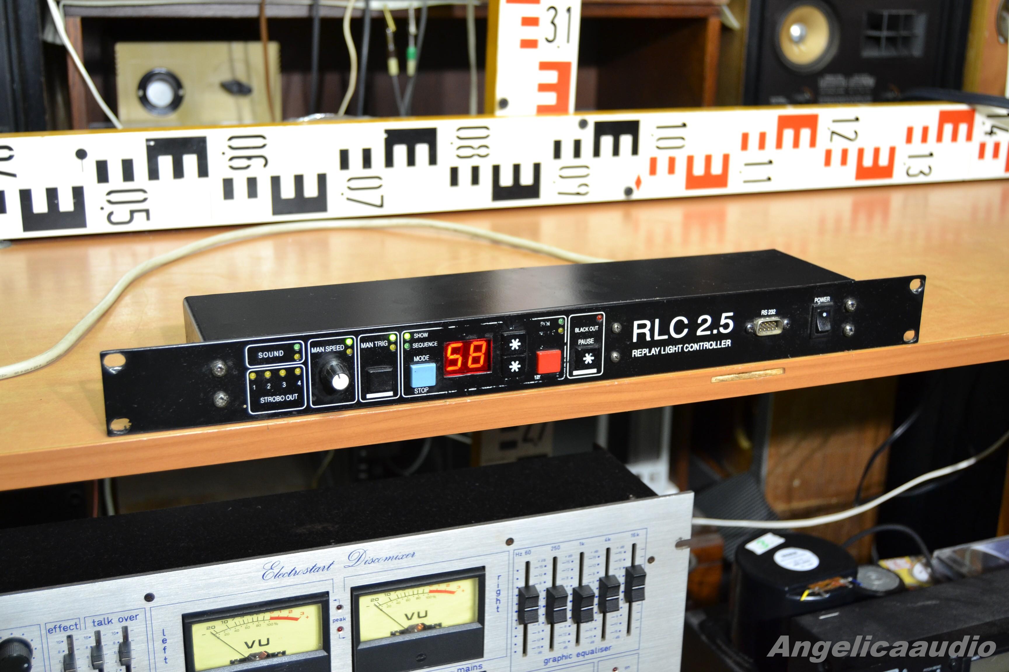Rlc 2 5 Replay Light Controller Angelicaaudio 1990