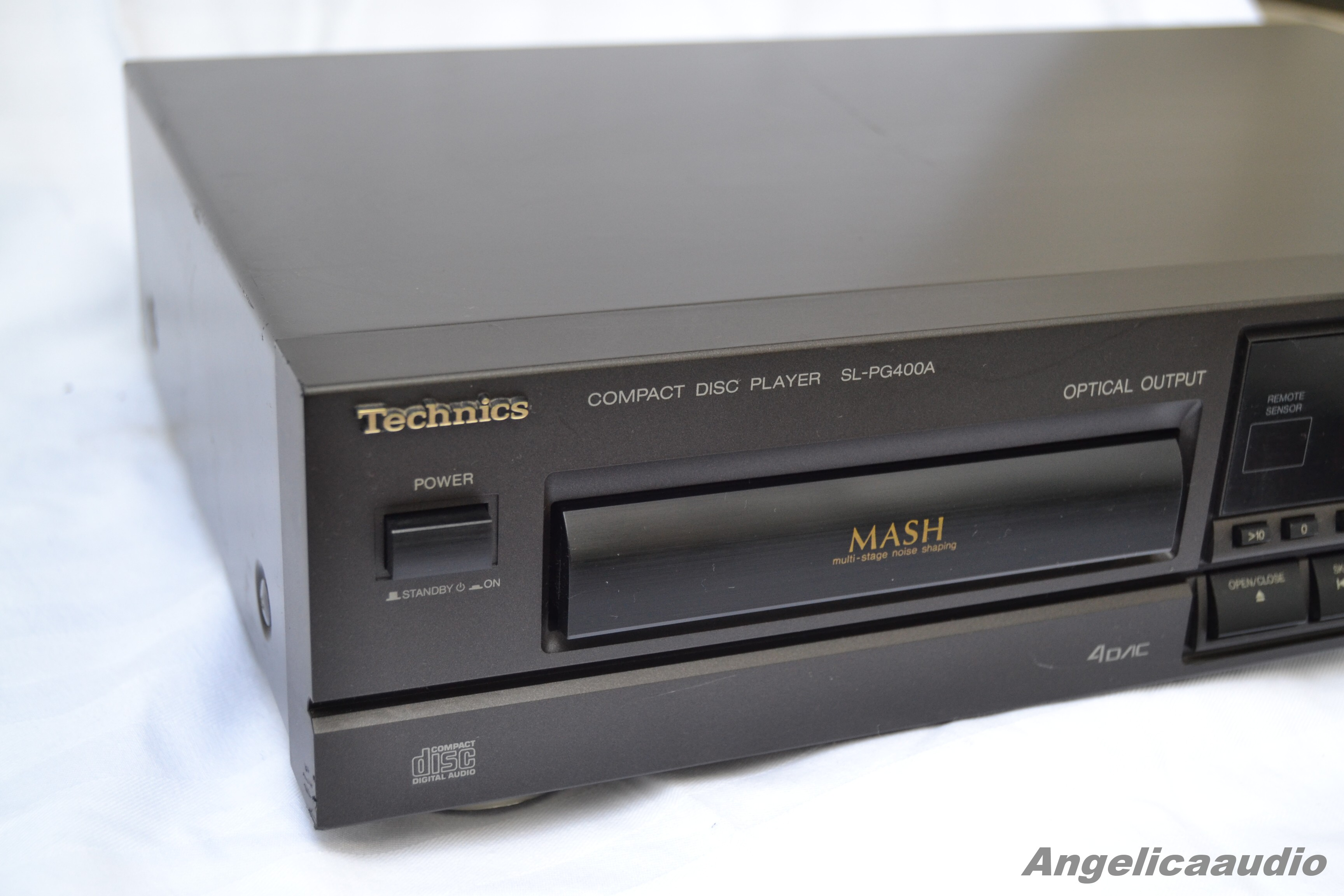 Technics Sl Pg400a Cd Player Made In Germany