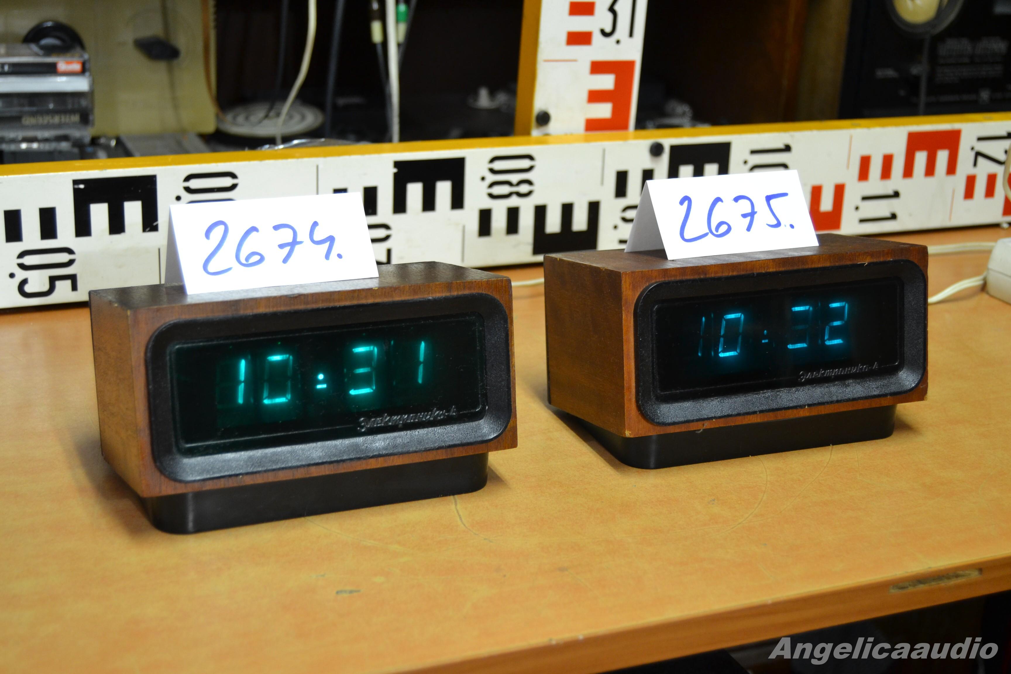 Digit 225 Ln 237 Hodiny Elektronika Sssr No 2674 2675