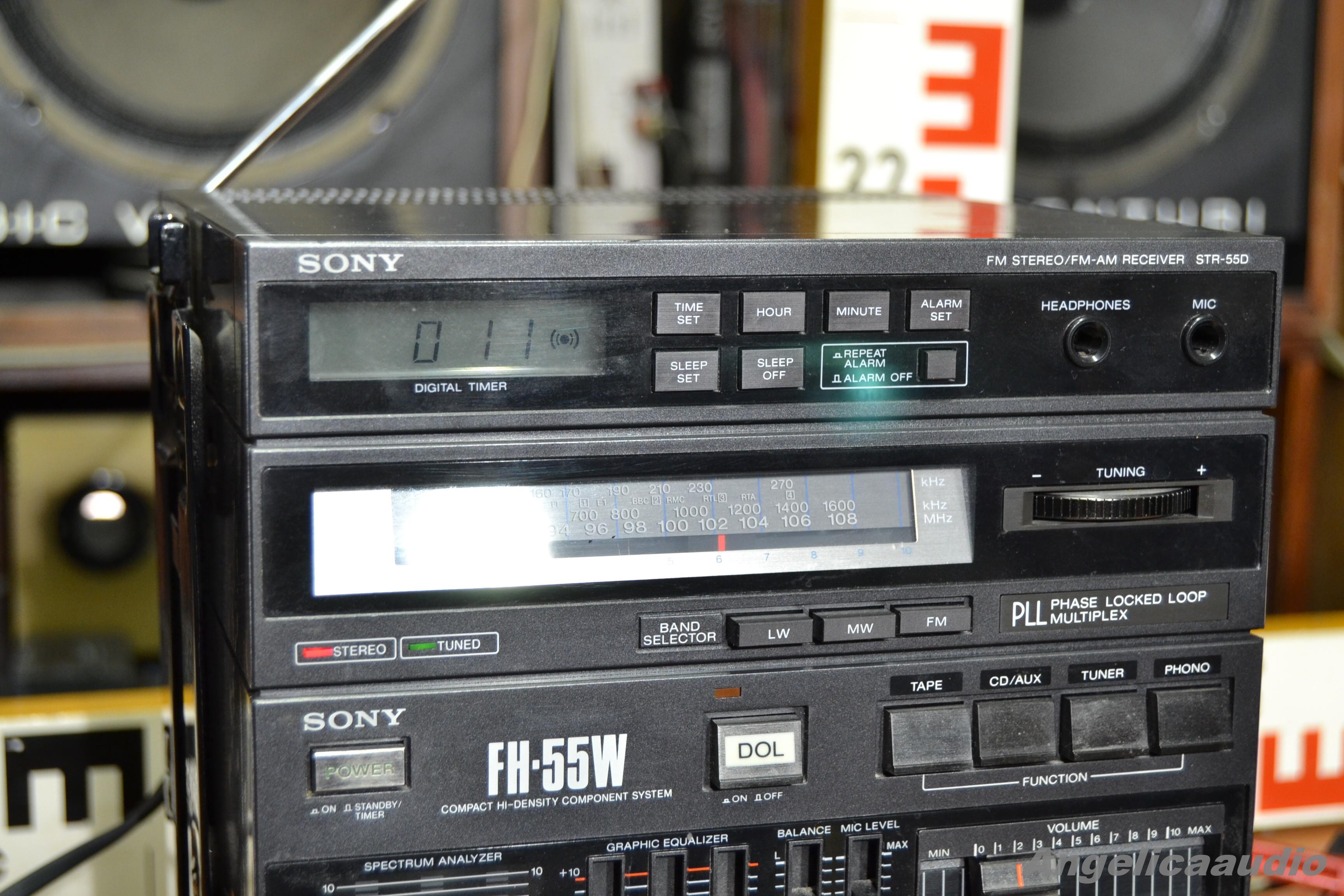 Sony Fh 55w Component System Ghettoblaster Japan Bez