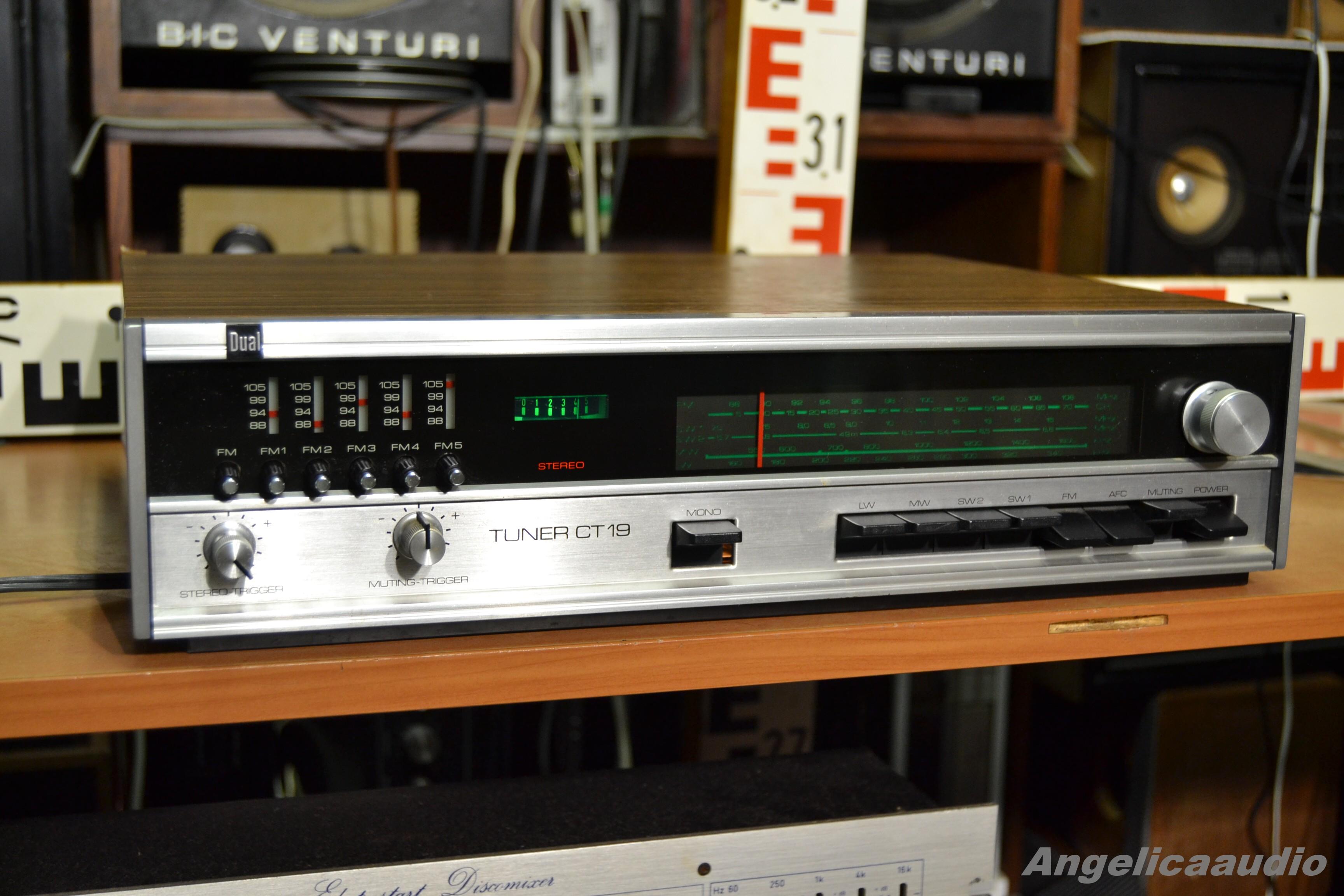 Tesla 2019 >> Dual CT19 Stereo Tuner : Angelicaaudio 1990