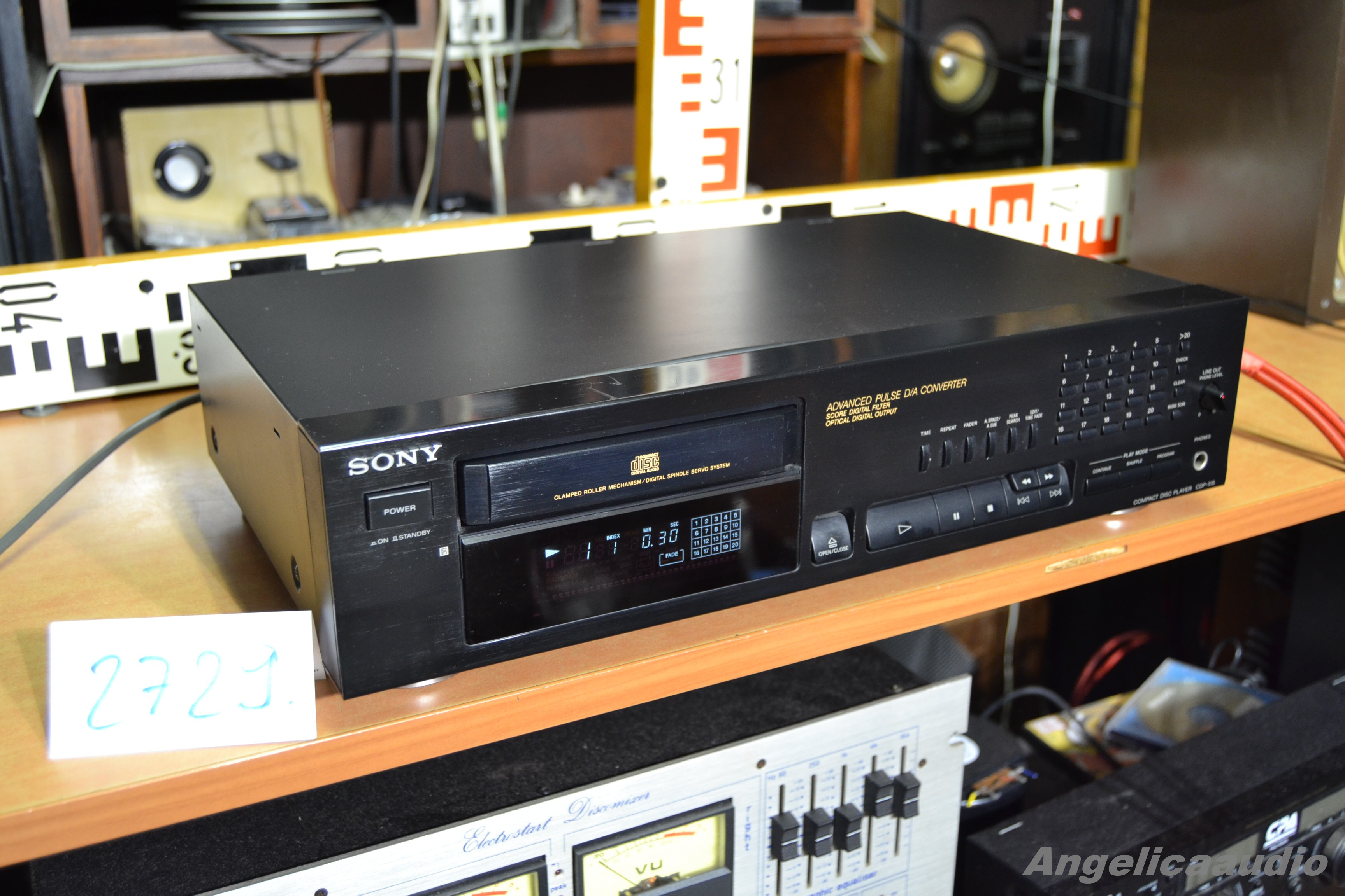 Sony Cdp 515 Made In France No 2729 Angelicaaudio 1990