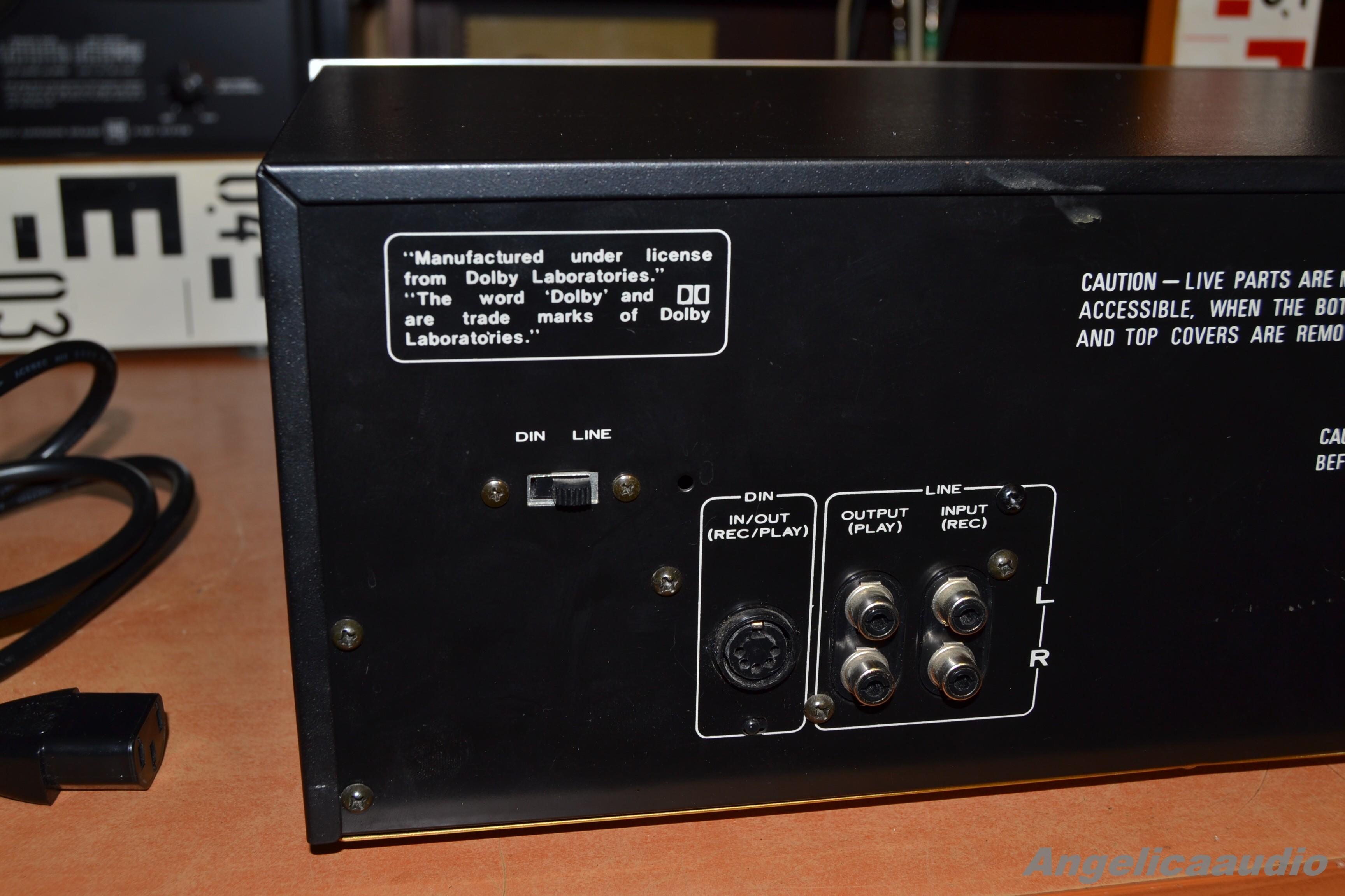 Pioneer Ct F500 Tape Deck Japan 1978 1979 Angelicaaudio 1990