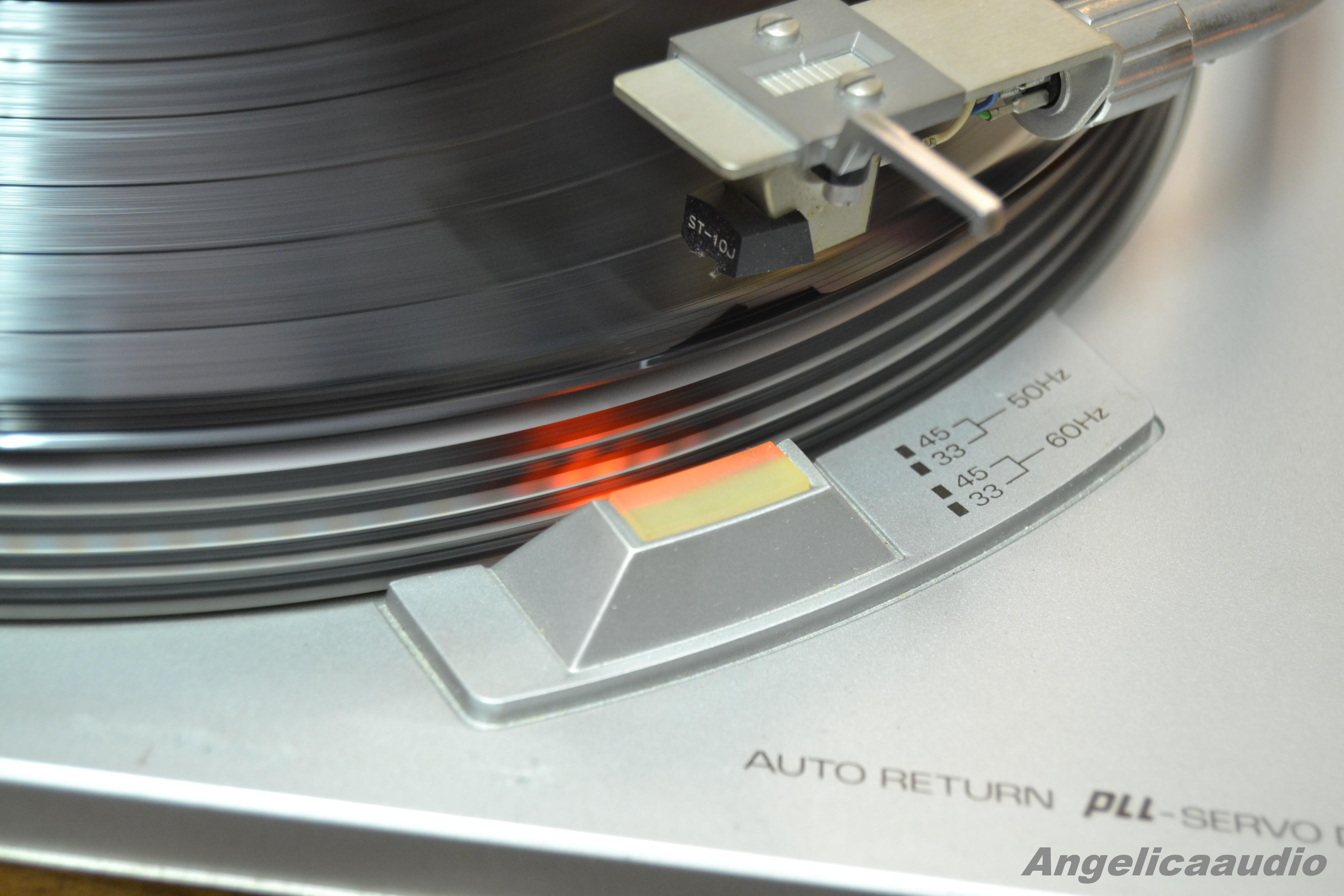 Sanyo Tp 1010 Um Pll Servo Drive Gramofon Japan 1975 1978