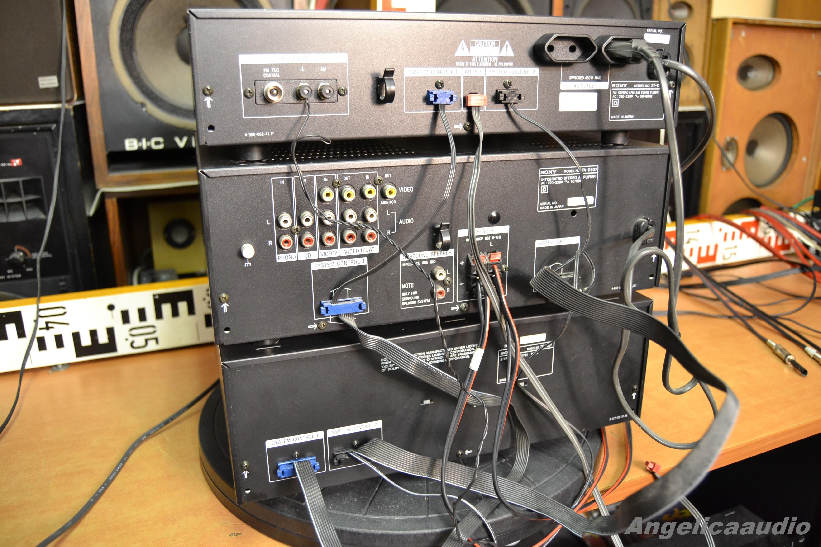 Sony Lbt D507 Sony St D707 Ta D607 Tc D607 Made In