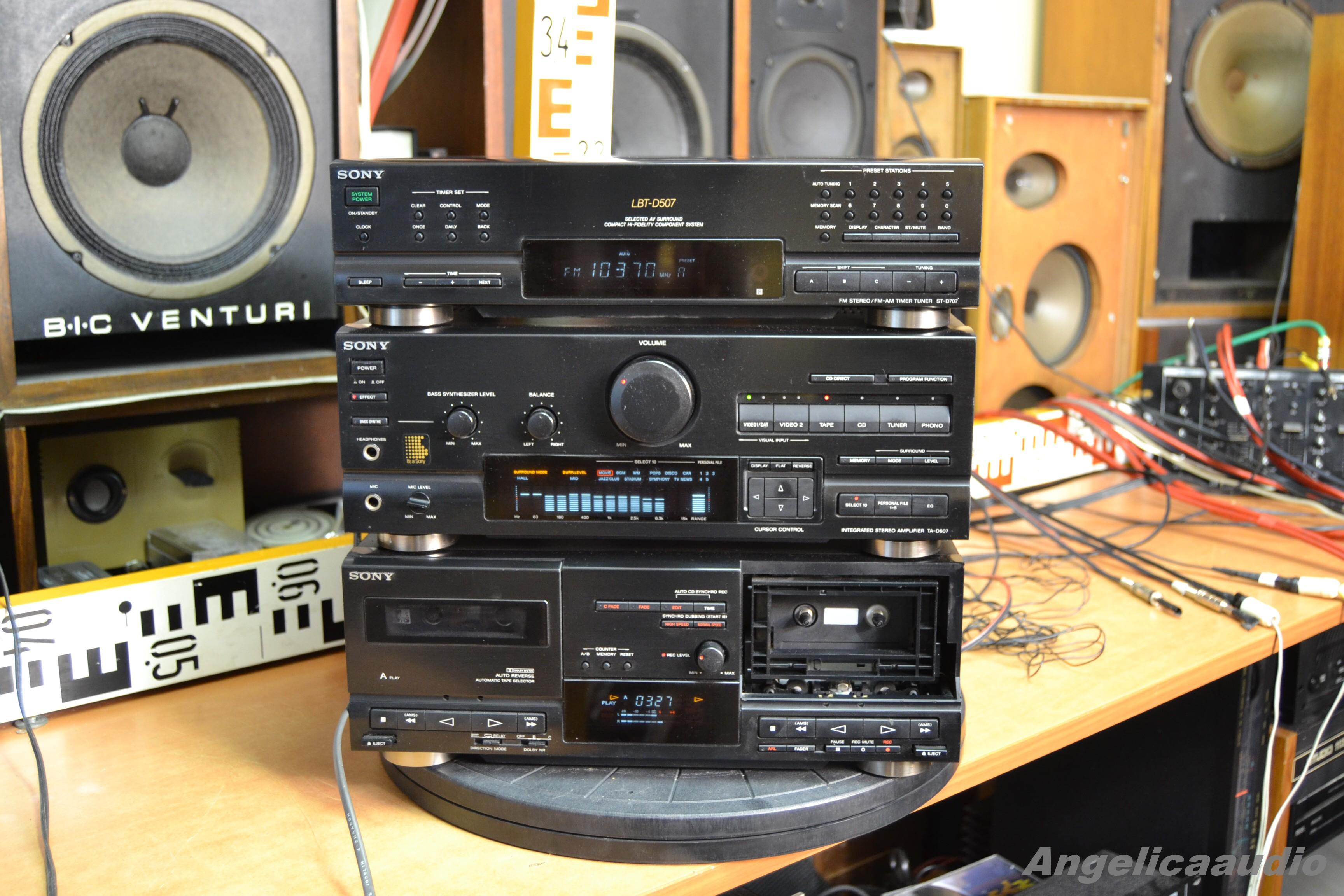 SONY LBT-D507 (SONY ST-D707, TA-D607, TC-D607) made in ...