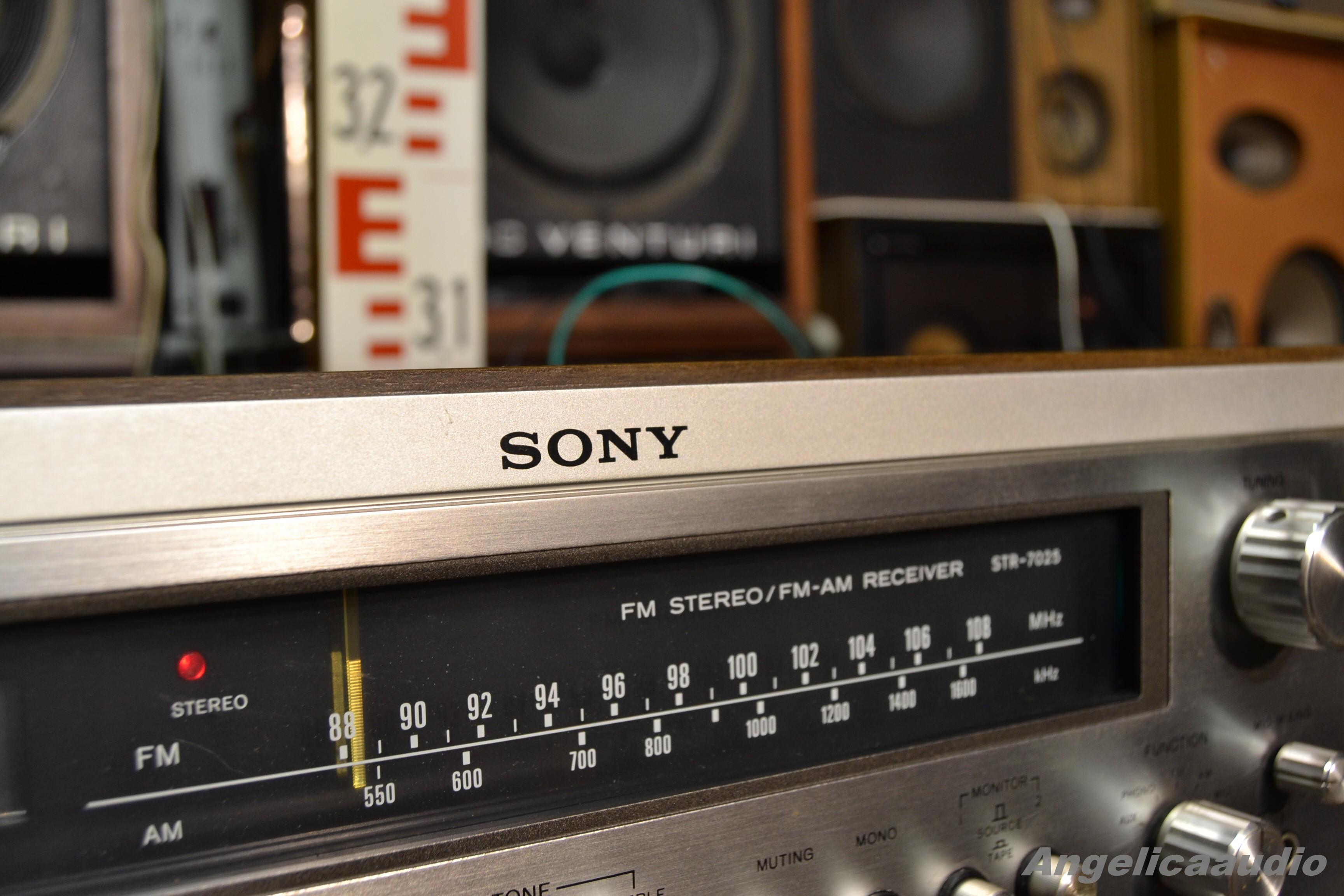 SONY STR-7025 receiver JAPAN 1975 (120V) : Angelicaaudio 1990