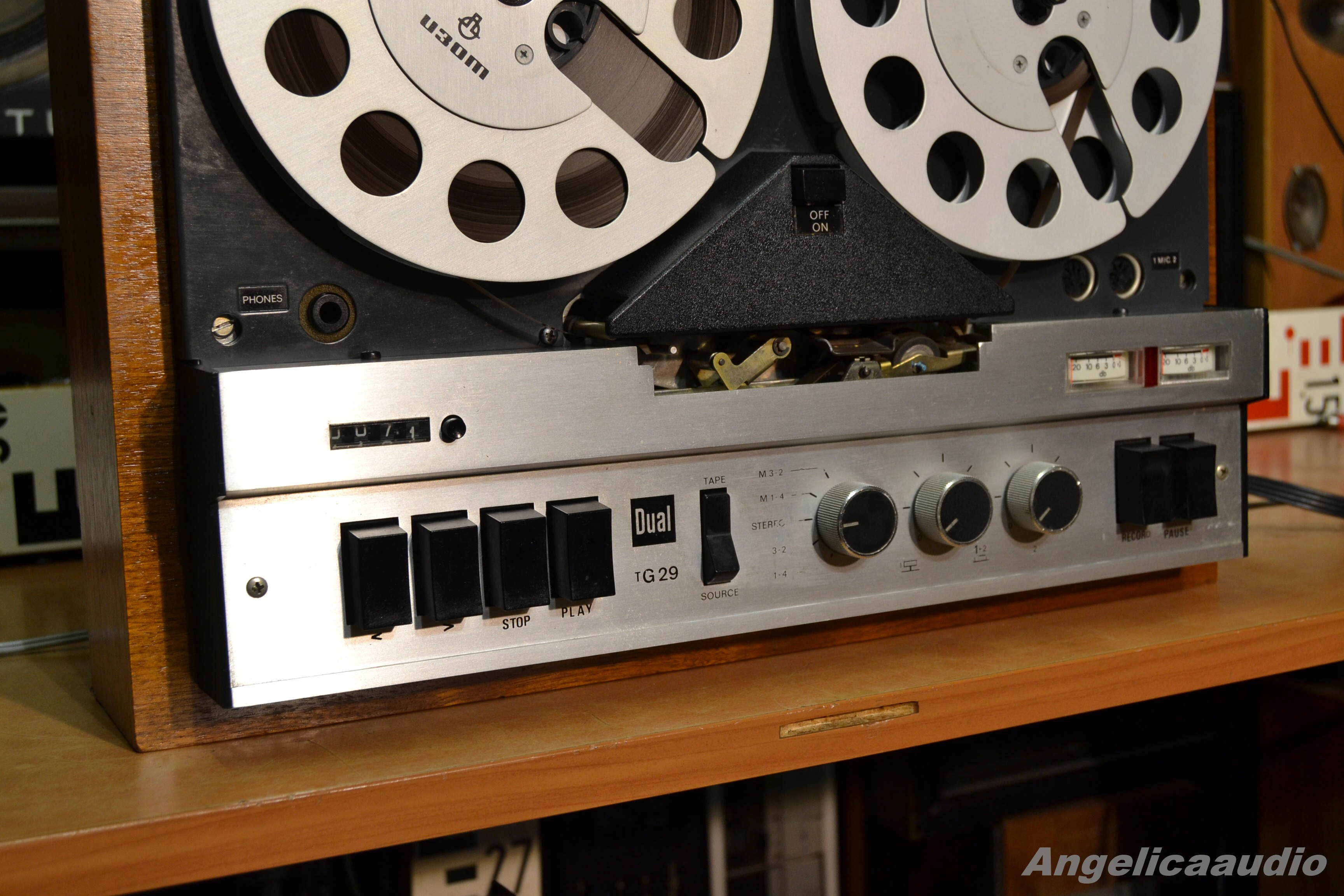 dual tg 29 cv  reel to reel  w germany 1972