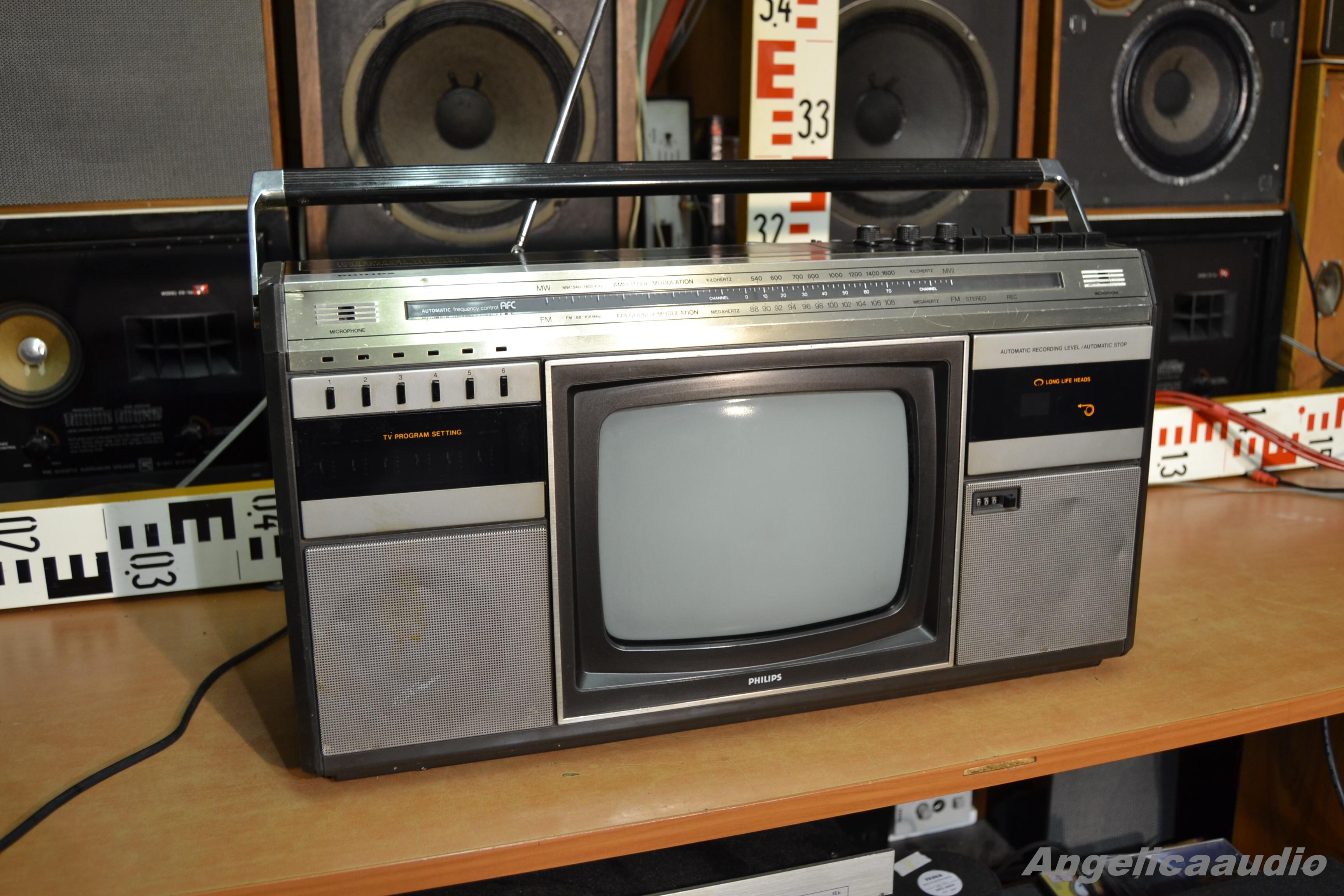 Philips Combi Tc 10 Tv Stereo Radio Recorder