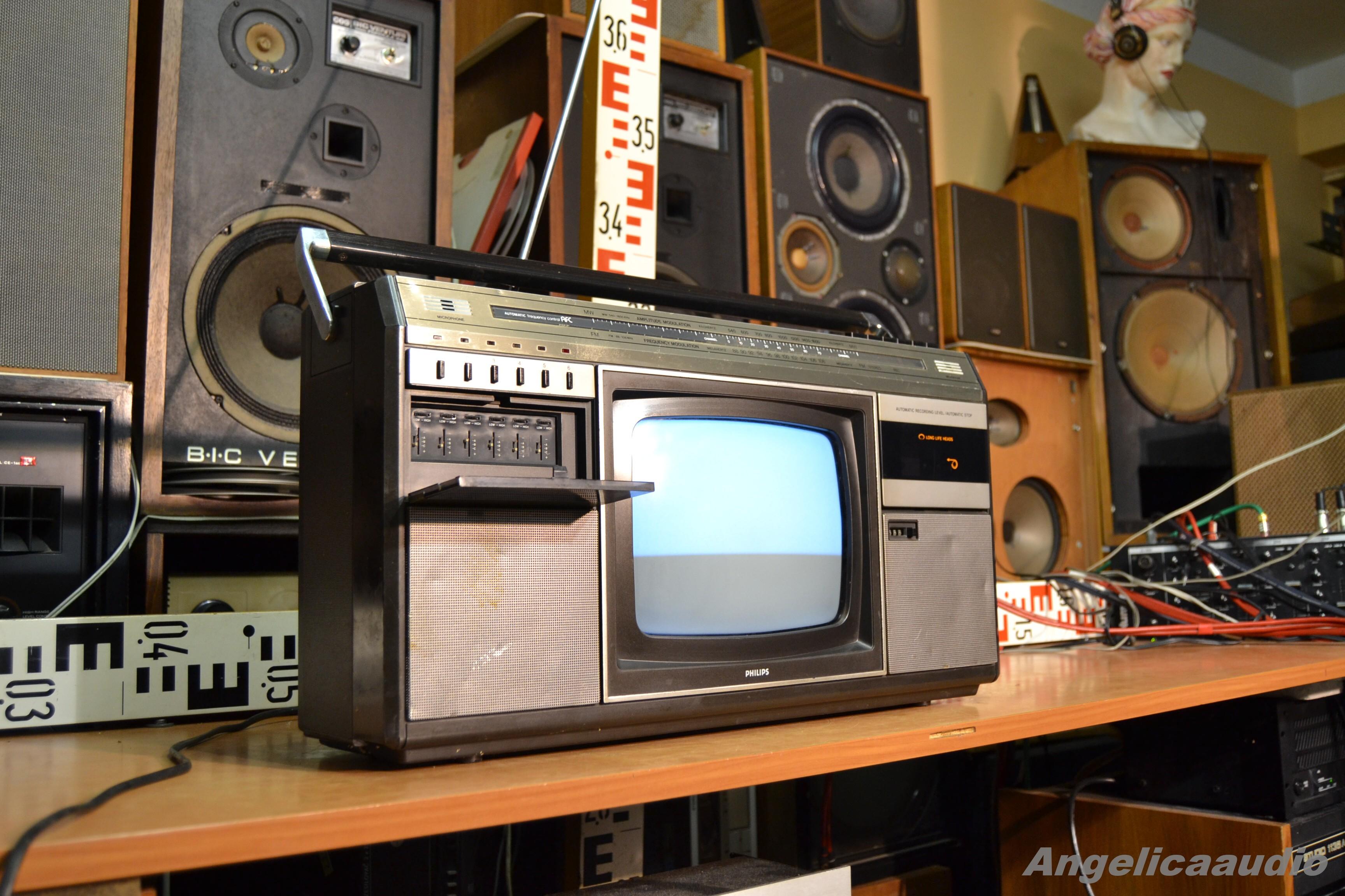 PHILIPS COMBI TC-10, TV stereo radio recorder ...