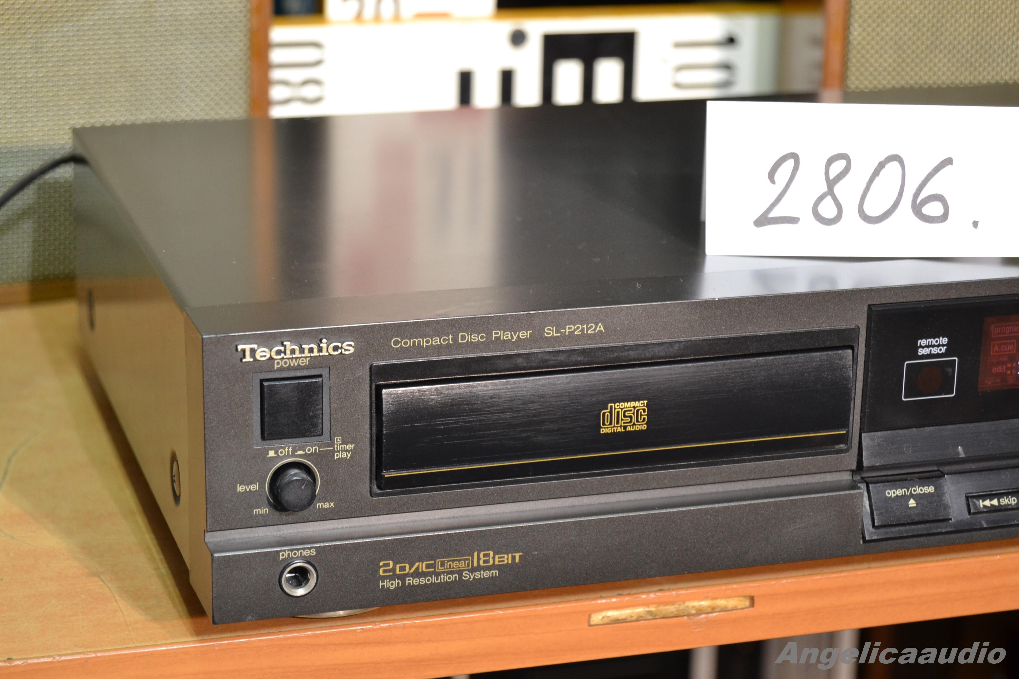 Technics Sl P212a Cd Player W Germany 1989 1990 No 2806