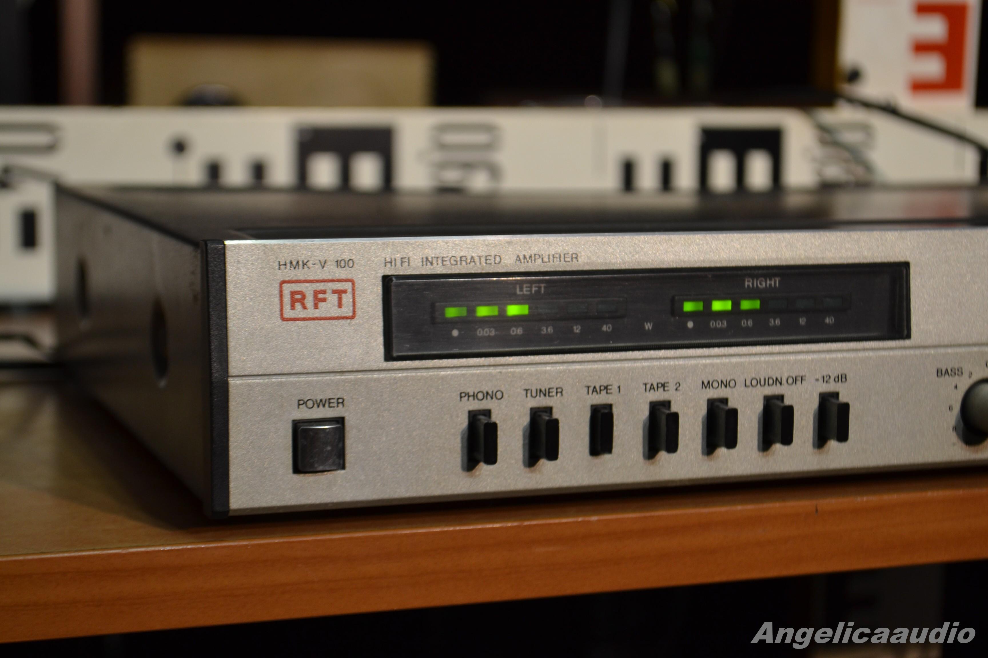 Rft Hmk V 100 Stereo Amplifier No 2850 Angelicaaudio 1990