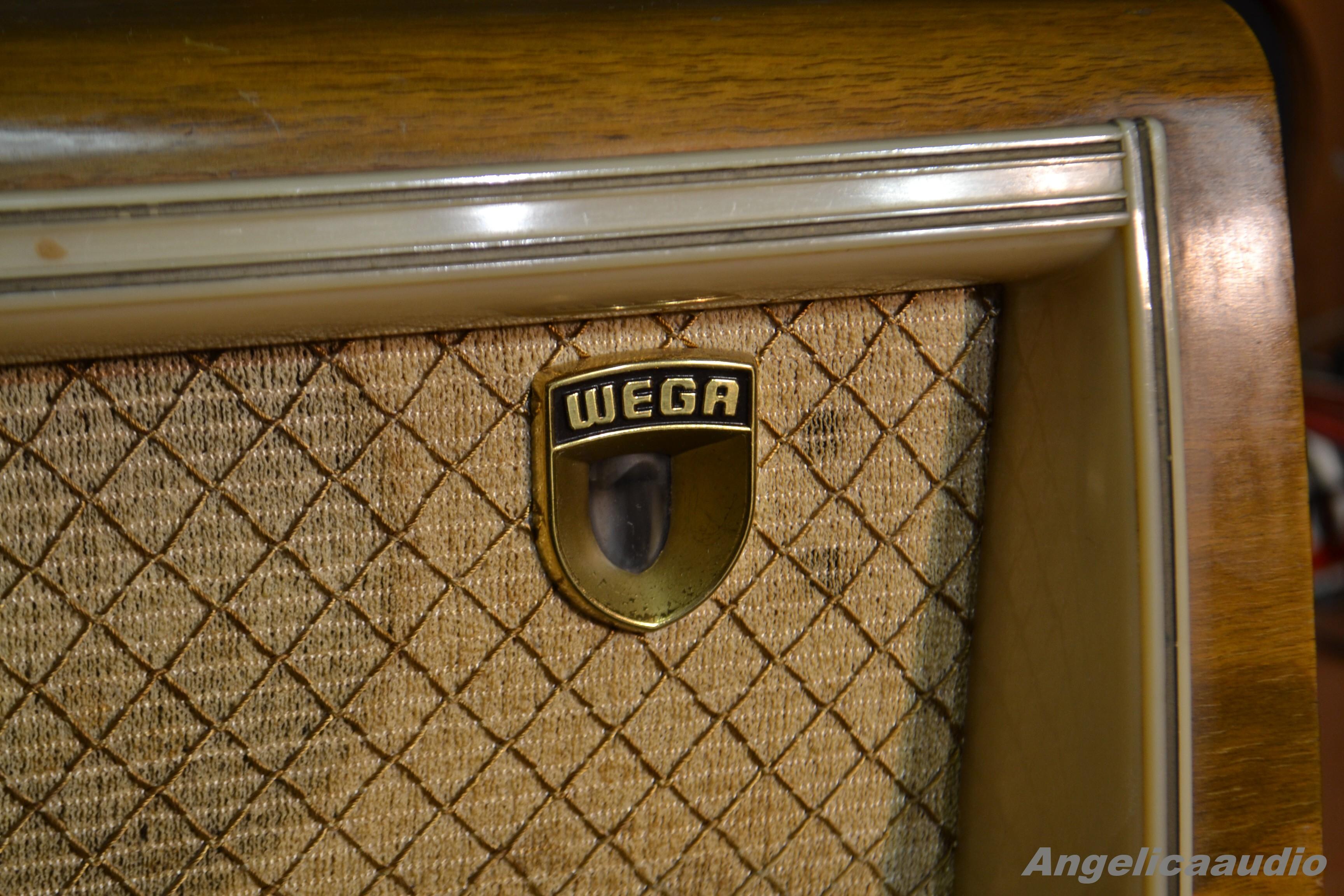 Wega 202 Wega Radio Stuttgart 1957 1958 Angelicaaudio