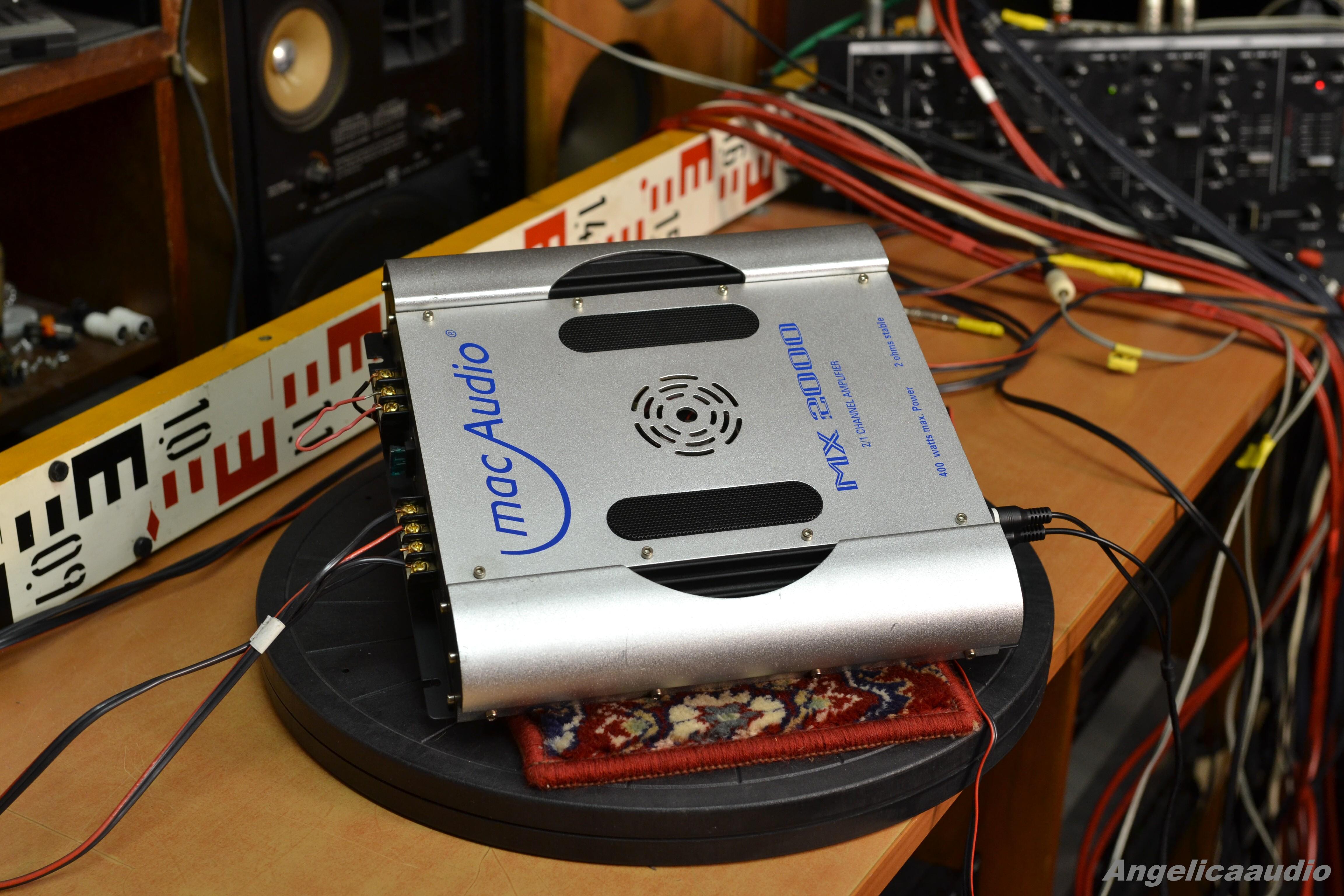 Guide Auto Web >> mac Audio MX 2000 amplifier : Angelicaaudio 1990