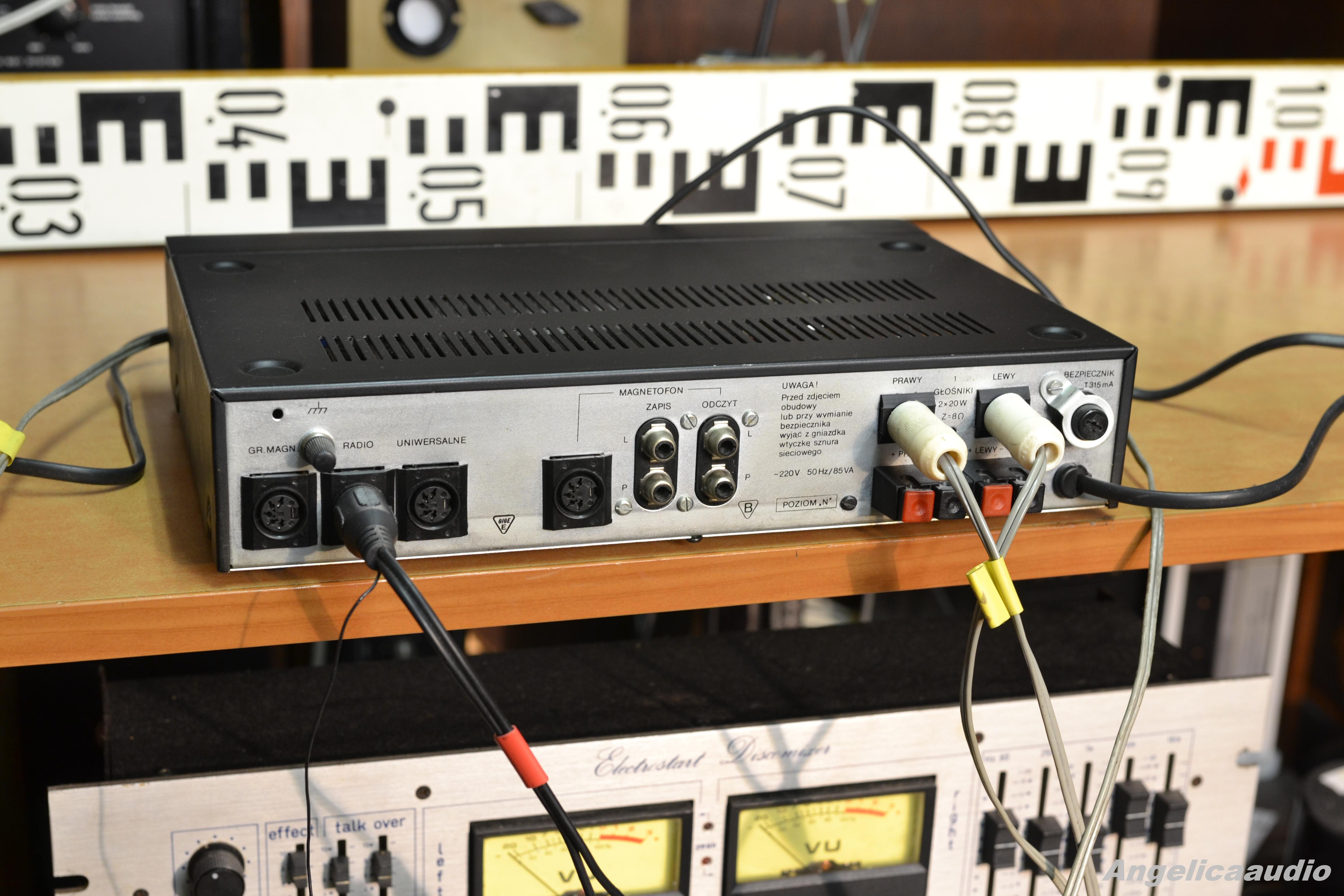 Unitra Wzmacniacz Stereo Pw 8010 Angelicaaudio 1990